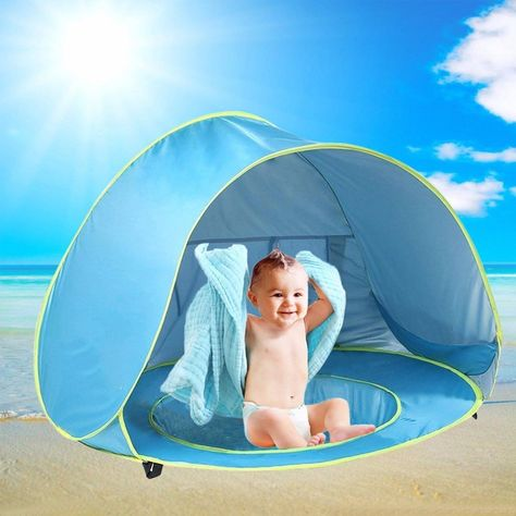 Baby Beach Tent Pop Up Baby Sun Shelter with Pool Shade UV