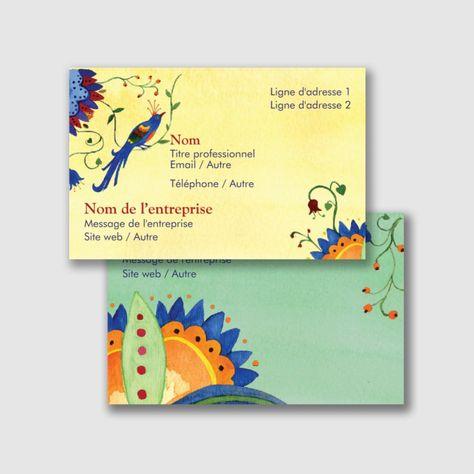 Modeles De Nature Et Paysages Cartes Visite Standard Pour Page 5