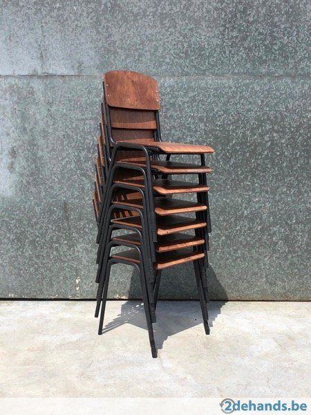 New Vintage Iso Wood Stoelen Zwart Frame 300 Op Voorraad Te Koop Stoelen Bijzetstoel Buitendecoraties