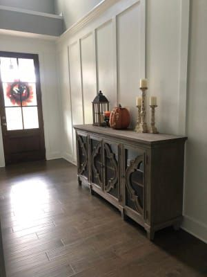 Pin By Keto Kraver On Rooms In 2020 Accent Table Decor Living Room Decor Rustic Accent Cabinet