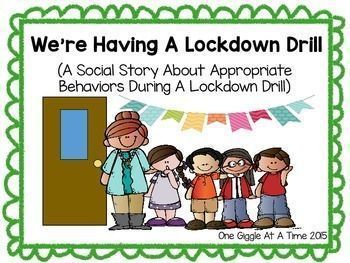 We're Having A Lockdown Drill (A Social Story) | Classroom