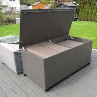 Hpl Kissenbox Wasserdicht Kissentruhe Gartentruhe Gartengestaltung Ideen