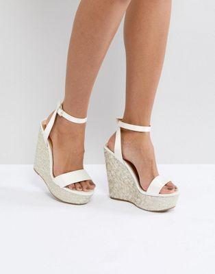 migliore selezione di più alla moda belle scarpe HOOLA - Zeppe da sposa | Matrimonio nel 2019 | Zeppe da ...