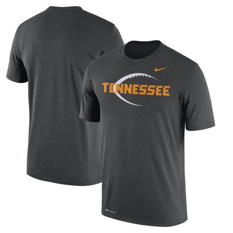 89e3dcbccfb2 Tennessee Volunteers Nike Football Icon Legend Dri-FIT Performance T-Shirt  - Anthracite
