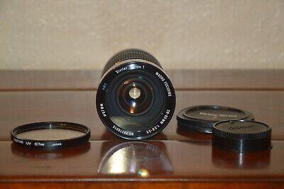 Vivitar Series 1 Macro Focusing Vmc 28 90mm F 2 8 3 5 Lens Camera Lenses Lenses Lens