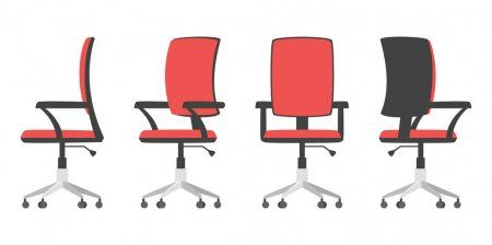 Illustration Of Office Chair Stock Vector Aff Office Illustration Chair Vector Ad In 2020 Illustration Office Chair Buy Chair