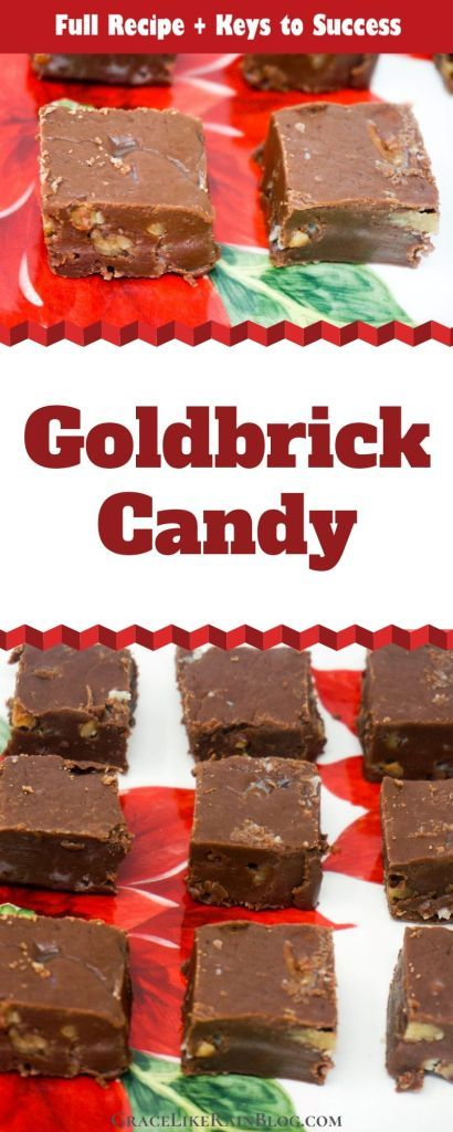 Christmas Candy Recipes 2020 Goldbrick Candy | Grace Like Rain Blog | Recipe in 2020 | Easy