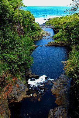 Ohe O Gulch Pools Seven Sacred Pools Hawaii Maui Hawaii Pool