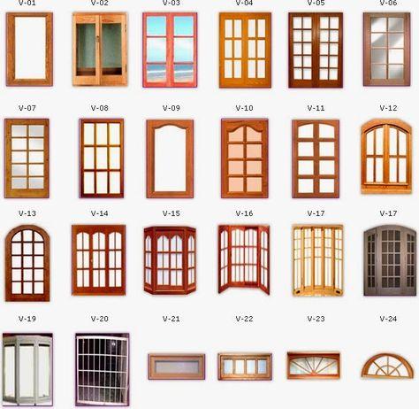 tipos de ventanas para fachadas - Buscar con Google