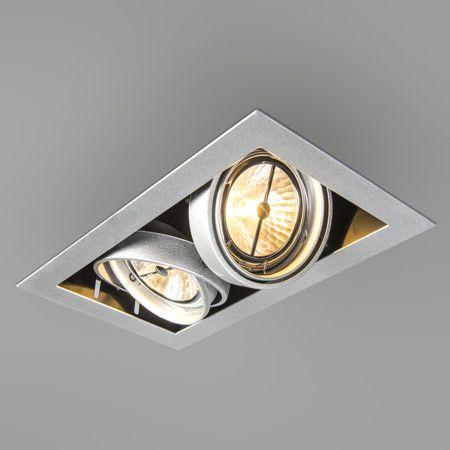 Einbaustrahler Oneon 111 2 Moderner schwenk- / und kippbarer Einbaustrahler.  #Einbauleuchte #Lampe #Light #einrichten #Innenbeleuchtung #wohnen