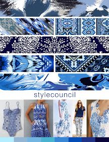 The Style Council : Shades of Denim - For that polished look check out our porcelain blue palette.