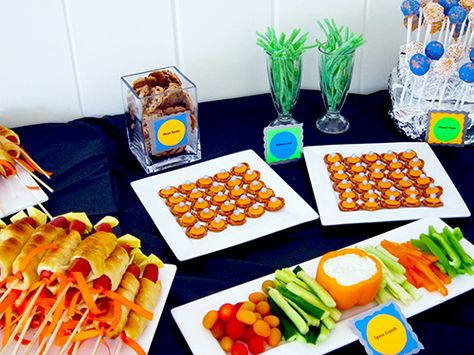 Different Food Ideas For Space Party