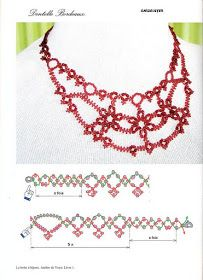 beautiful necklace - free pattern by Emily Weiss