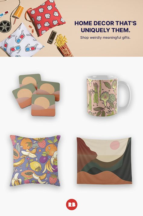 Deck the Walls Shop home decor designed and sold by artists.