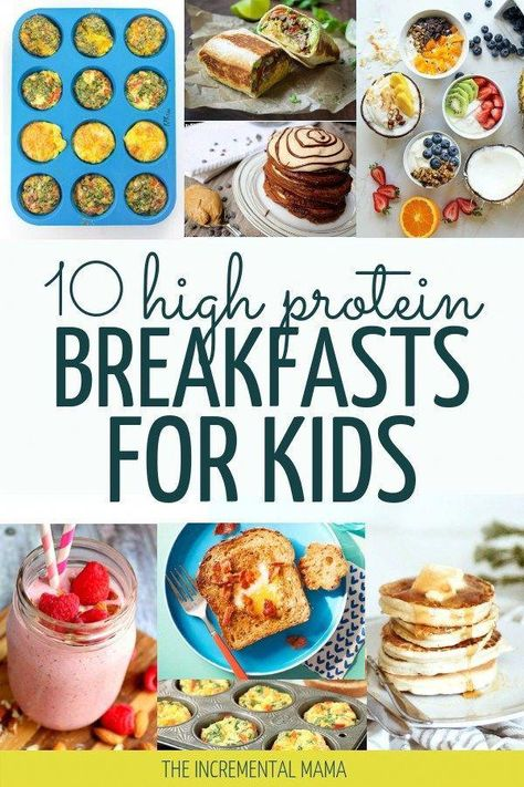 Looking for healthy breakfast ideas for your picky eaters? Check out these 10 simple high protein breakfasts your kids will love in the mornings. #healthybreakfastideas #proteinbreakfast #healthybreakfastforkids #GoodHealthyFood