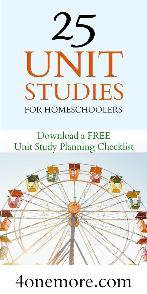 25 Unit Studies For Homeschoolers Unit Studies Are An Efficient And Interesting Way To Homeschool Multiple Ages Together Without Losing Your Mind As The Homeschool Mom Here 39 S A List Of 25 Abby Homeschool With Moxie Com Kindergarten Lesson Plans, Homeschool Kindergarten, Montessori Elementary, Elementary Teaching, Teaching Kids, Homeschool Coop, Homeschool Curriculum, Homeschooling Resources, School Resources