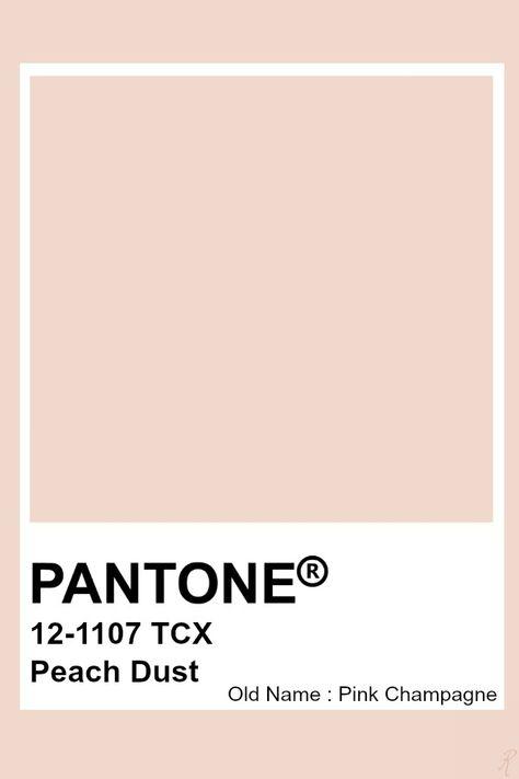 Pantone Peach Dust