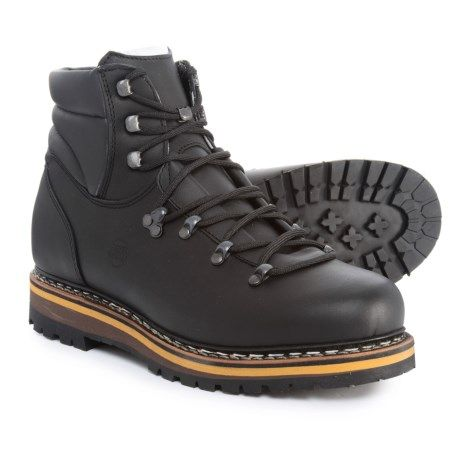 9a350b47a5e Hanwag Made in Germany Grunten Hiking Boots - Leather (For Men ...