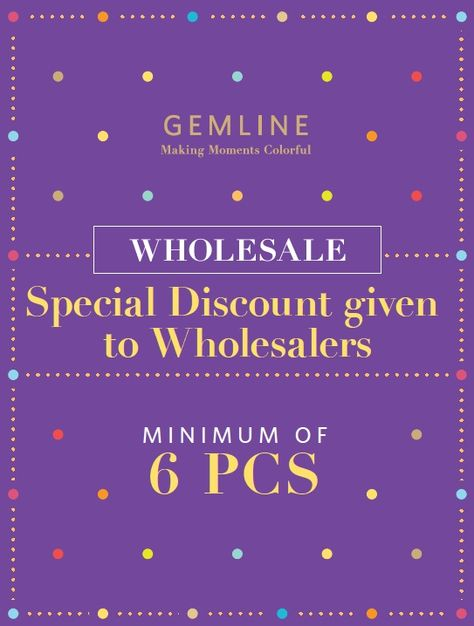 Wholesale and special discount! Visit BHF Gemline Jewelry located at 2nd floor of SM City Sta. Mesa!