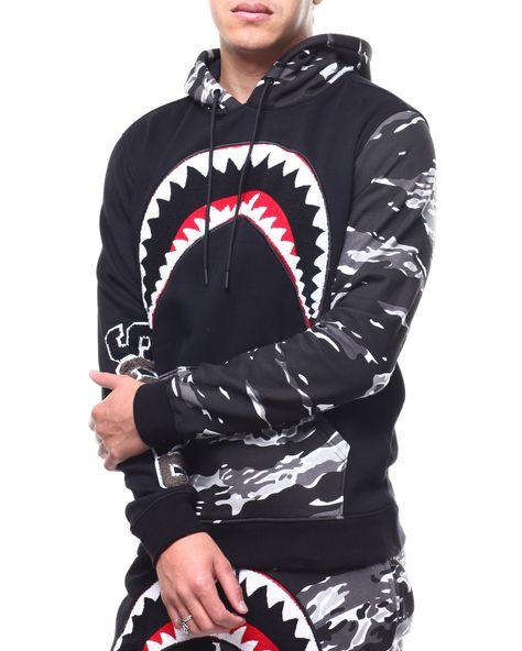 Hudson Outerwear Shark Pullover Hoodie