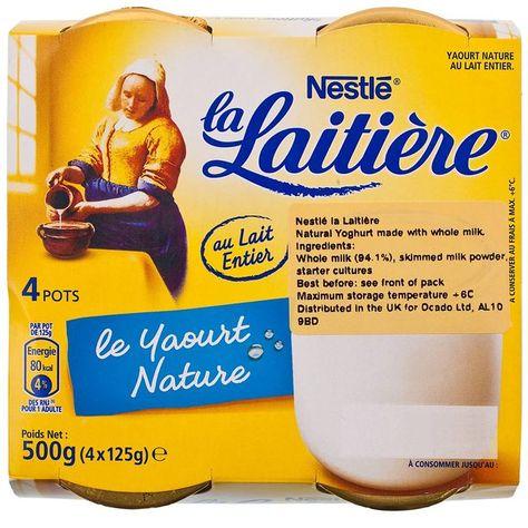 Nestle La Latiere Natural Yogurt At Ocado Love This Yogurt