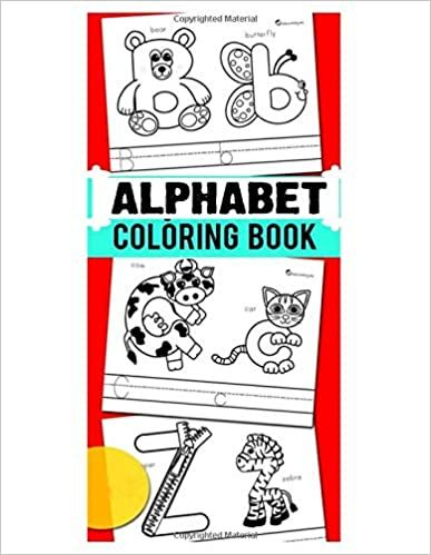 Alphabet Coloring Book 26 Coloring Pages Color Your First Alphabet Raza Mosharaf 9798658873978 Amazon Com Book Alphabet Coloring Coloring Books Alphabet