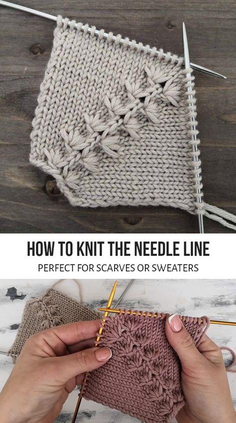 Knitting Paterns, Knitting Designs, Knitting Yarn, Knit Patterns, Knitting Projects, Crochet Stitches, Baby Knitting, Knit Crochet, Crochet Hats