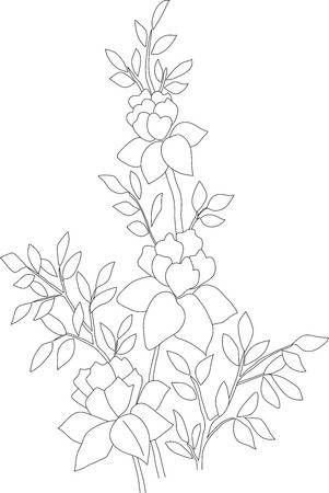 28+ Arbustos para dibujar ideas