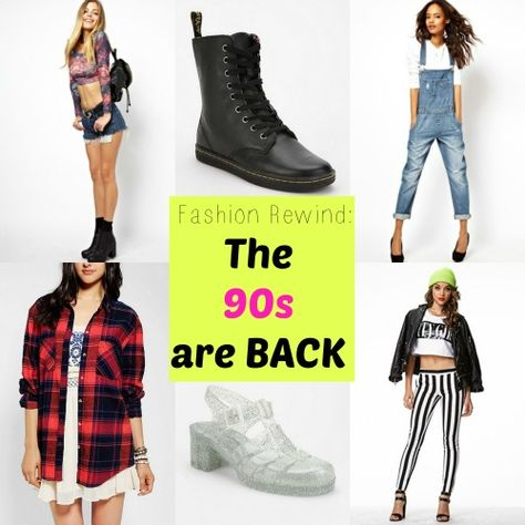 I Love the 90s: 90s Fashions BACK in Style. Nooooo!! Don't bring back the jelly platforms! The Docs & flannel...not too bad. I rocked all this 15 years ago!!
