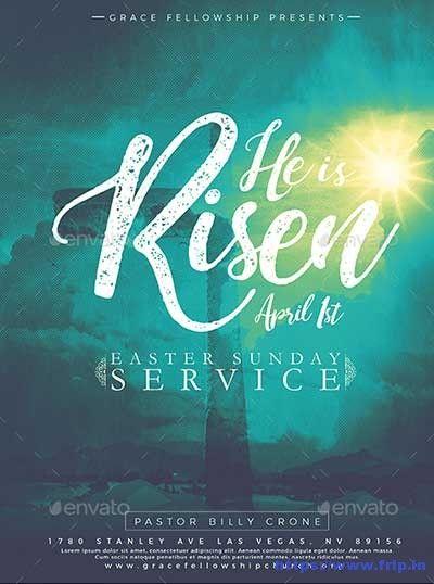 35 Best Easter Church Flyer Print Templates 2020