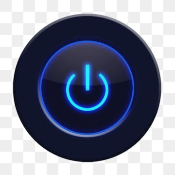 Black Technology Switch Button Black Button Blue Light Button Technology Png Transparent Clipart Image And Psd File For Free Download Black Social Media Icons Prints For Sale Social Media Icons