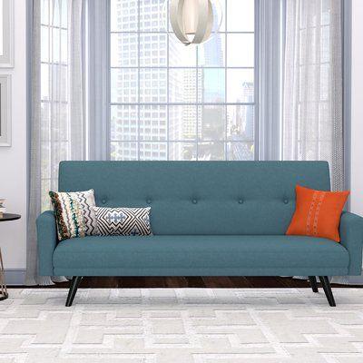 Click Clack Futon Convertible Sofa