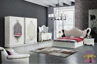 اشيك غرف نوم تركية غرف نوم عرسان 2021 Furniture Home Home Decor