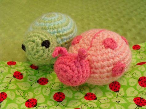 Crochet Baby Rattle free pattern