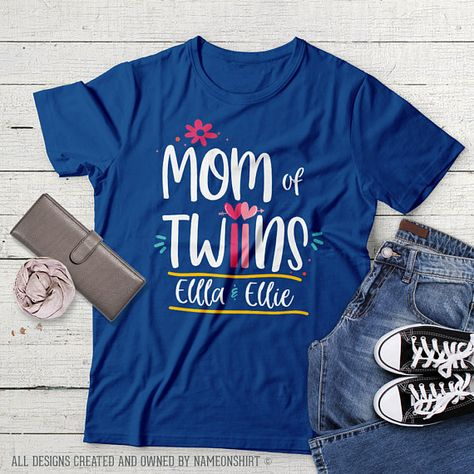 Personalized New Mom Of Twins Shirt Girl Twins Gift For Twin Mom Of Twins Gift For Mom Shirt Twin Mo  sc 1 st  Pinterest.ru & Mom Of Twins Shirt Personalized Twin Mom Mother Of Twins Baby Gift ...