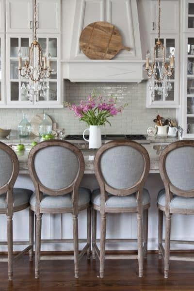 French Country Fridays 34 Fall To Kitchens And More Countryhomedecor With Images Trendy Farmhouse Kitchen Stools For Kitchen Island Kitchen Bar Stools