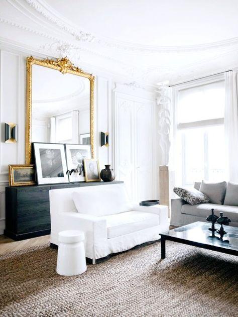 Modern meets classic living room