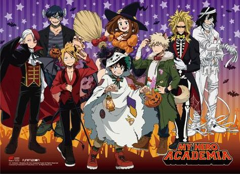 My Hero Academia - S2 Halloween Group Wall Scroll
