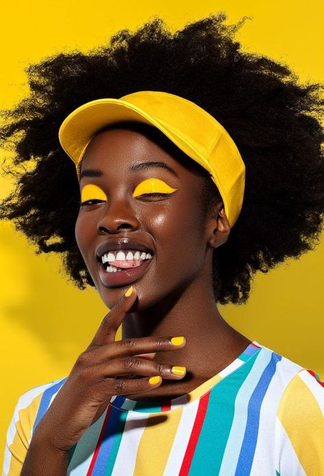 image via  ben c.k. for lucy's magazine // INSPIRATION 74 / GOLDEN YELLOW — Weekend Creative // This year in particular I've been really attracted to this golden yellow color that I keep seeing just about everywhere. #goldenyelloweditorial #yelloweyeshadow