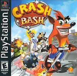 Crash Bash Ps1 Playstation 1 Disc Only Ps4 Gaming Video Crash Bash Crash Team Racing Retro Gaming