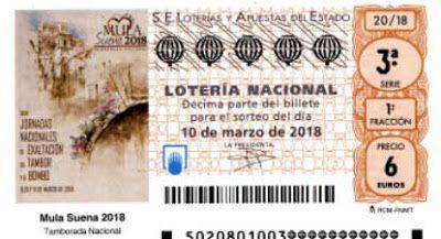 Decimo Loteria Mula Suena Lotería Nacional Lotería Resultado Loteria