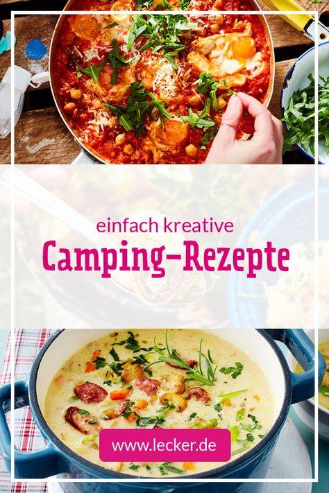 Was unsere Camping-Rezepte ausmacht? Na, der ganz große Geschmack trotz kleinem Aufwand und wenig Zutaten. Außerdem lassen sie sich auf nur einer Gasflamme zubereiten. Da heißt es kreativ werden! #rezepte #camping #kochen #reisen #unterwegs #einfach #schnell #pasta #nudeln #eintopf #salat