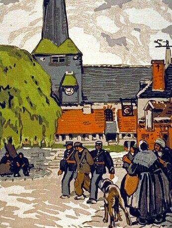 Epingle Par Desbleds Jacques Sur Mathurin Meheut Peintre Exposition Peintre Anglais
