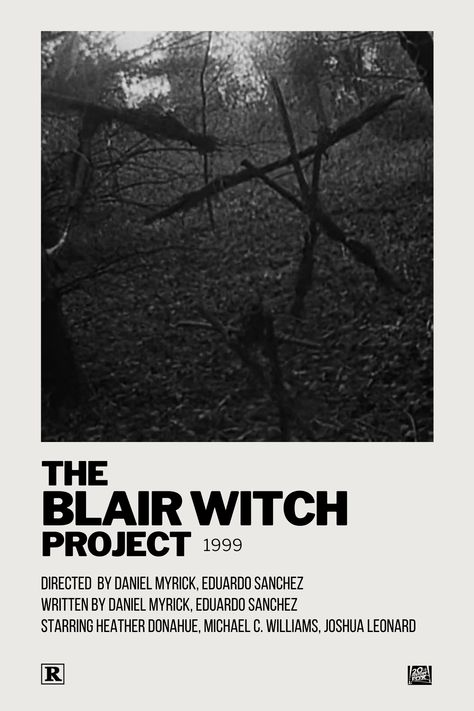 The Blair Witch Project Polaroid Movie Poster