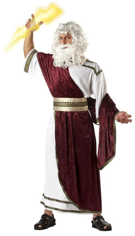 This costume is of zeus and his representation