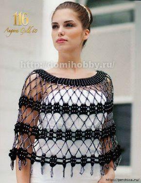 promo code f118a 28254 Coprispalle elegante da sera all'uncinetto | Crochet | Abiti ...