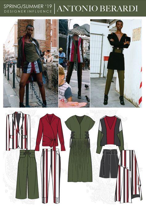 Trendy Fashion Portfolio Layout digital - Dresses for Women