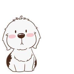 16 Super cute dog emoji gifs brings you joy