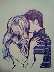 Resultado de imagem para dibujos a lapiz de parejas enamoradas tumblr