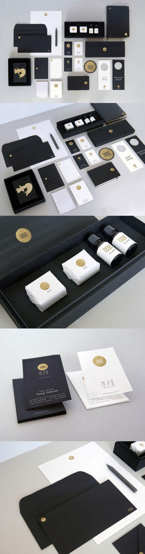 Moon Water Home Hotel branding by Shou-Wei Tsai
